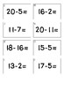Scoot Subtraction Game