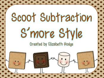 Scoot Subtraction- S'more Style