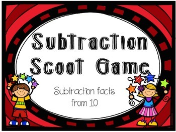 Scoot Subtraction from 10