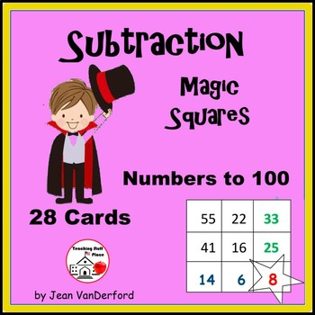 Subtraction to 100 | Magic Squares | Self-Checking Subtrac