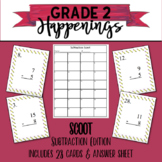 Basic Subtraction Scoot Style Game / Task Cards