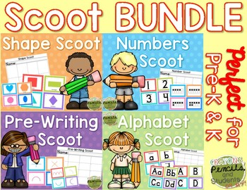 Scoot Task Card Bundle (Math & ELA)