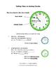 TELL TIME | Hour, Half-Hour, Quarter Hour, Five Minutes |Task Cards|Gr. 2-3 MATH