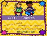 """Scoot Template Editable: Use with """"Any topic"""" or """"Any Subject"""""""