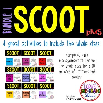 Scoot - Term 1 Scoots ( 9 in all)