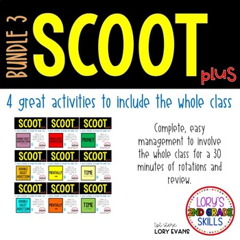 Scoot - Term 3 Scoots ( 9 in all)