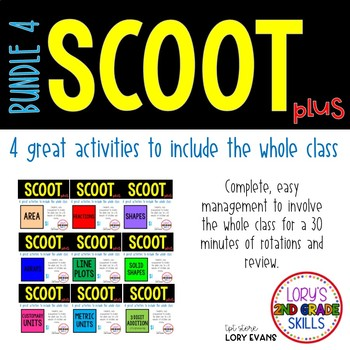 Scoot - Term 4 Scoots ( 9 in all)