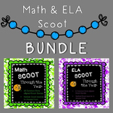Scoot Through the Year BUNDLE - Math and ELA