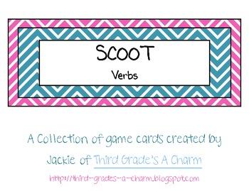 Scoot: Verbs