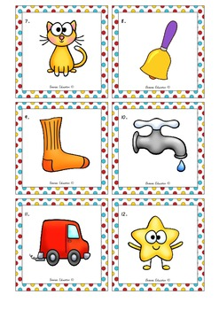 Scoot – Whole Class Rhyme Activity