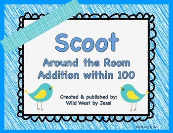 Scoot around the room addition within 100