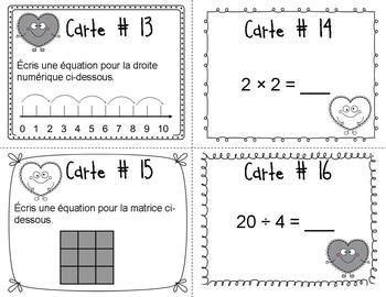 Scoot de la St-Valentin (Multiplication/Division)