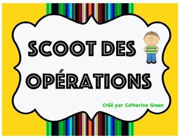 Scoot des opérations