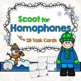 Scoot for Homophones