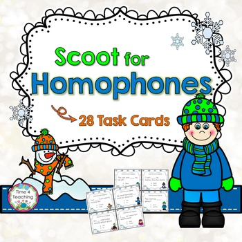 Scoot for Homophones