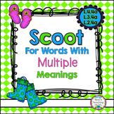 Scoot for Words With Multiple Meanings