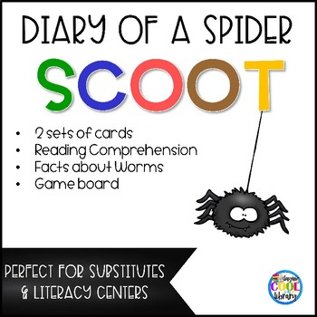 Diary of a Spider Scoot/Center Game
