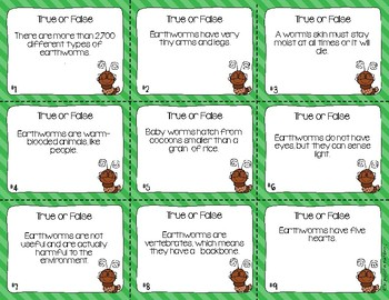 Diary of a Worm Reading Comprehension Scoot