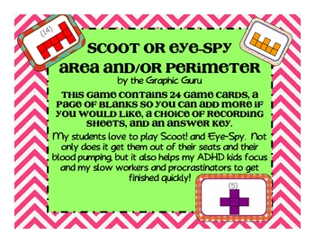 Scoot or Eye-Spy Area and/or Perimeter