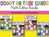 Task Cards or Scoot Bundle Pack: Math Edition (4 Games)