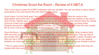 Scoot the Room - Christmas Review 4.NBT.A