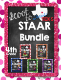 Scoot to STAAR 4th grade Math Bundle