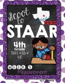 Scoot to STAAR Math Week 5 Measurement