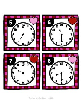 Scoot to the Hour and Half Hour - Valentine's Day