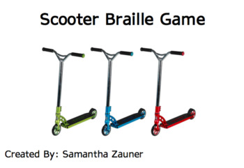 Scooter Braille
