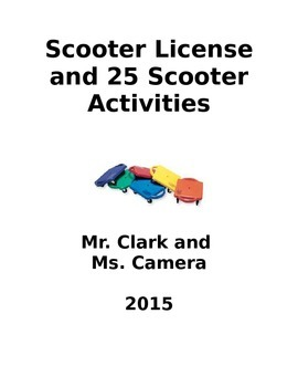 Scooter License and 25 Road Tested Activities