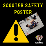 Scooter Safety PE Poster!