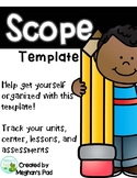 Scope Planner Template