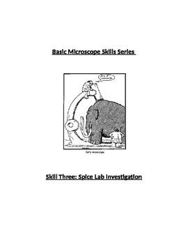 Scope Skills 3: Spice Lab Investigation