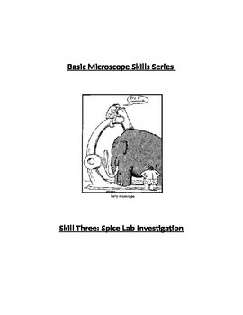Scope Skills 3: Spice Lab Investigation