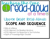 Scope and Sequence: Interactive Upper Grade Read-Aloud Les