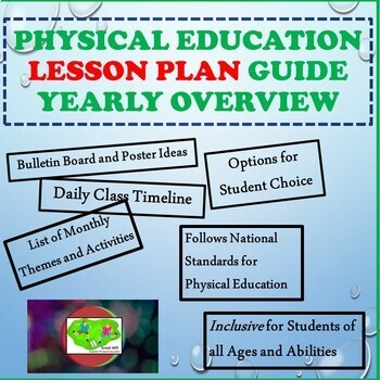 Scope and Sequence Physical Education Lesson Plan Guide