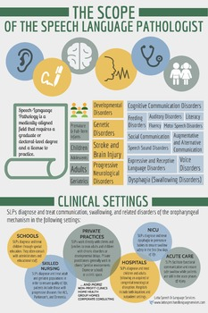 Scope of the SLP (Poster Size)