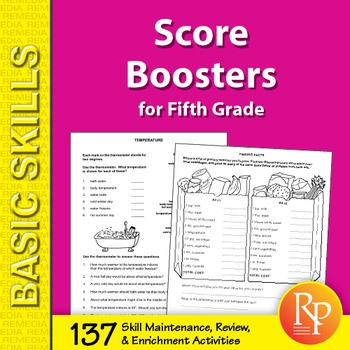 Score Boosters for Grade 5