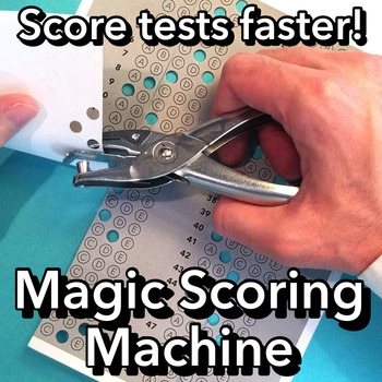 Score Bubble Answer Sheets for Multiple Choice Tests Faster