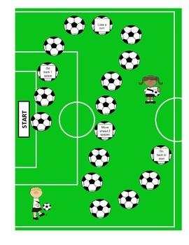 Score-O Short Vowel Soccer Game (short a and short o)