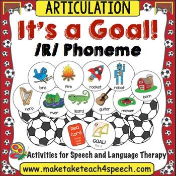 /R/ Phoneme - It's A Goal!