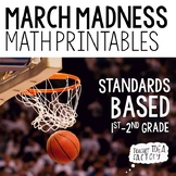 March Madness Math Printables