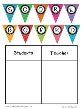 Scoreboard & Pennant