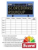 Scoreboard Roundup!Behavior Motivation! Classroom Management!