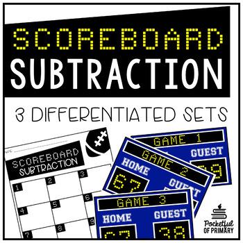 Scoreboard Subtraction