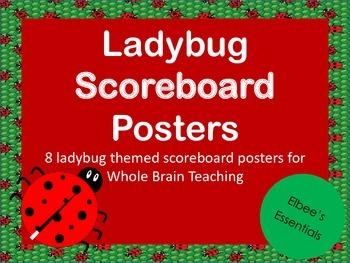 Scoreboard - Whole Brain Teaching (Ladybug Themed)