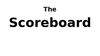 Scoreboard and Riles! Whole Brain Teaching - Super Improvers (Mind HAWK)
