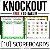 Scoreboards {Editable & FREE}