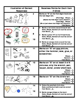 Scoring Instructions for the Test of Language for Learning-Kindergarten [TOLL-K]