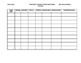 Scoring Sheet - Constraint Induced Therapy for Aphasia
